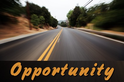 Opportunities are just down the road.