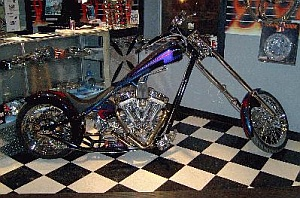 PT Customs Purple Bike
