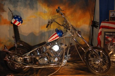The Captain America Chopper